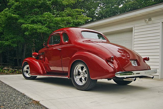1938 Chevrolet master deluxe coupe