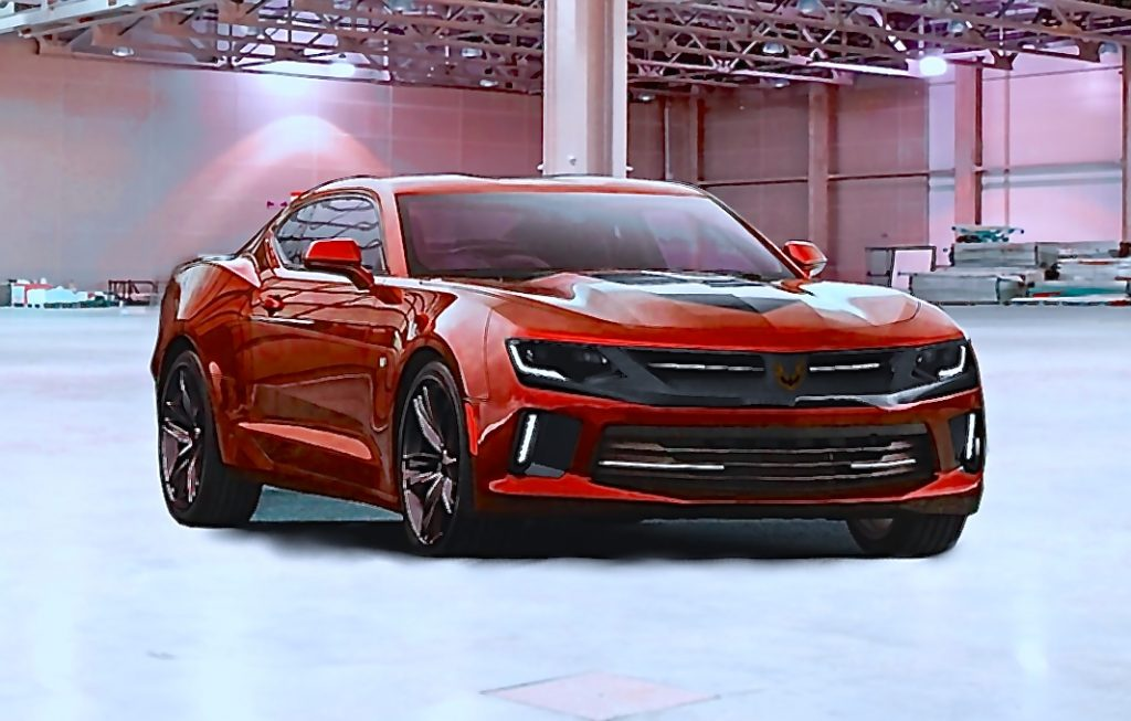 GM Rumored 2017 Firebird Blackbird Through GMC Dealers