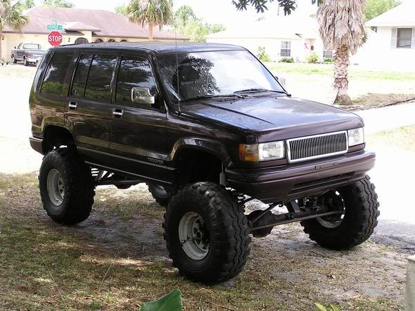 Cheap Off Road Cars - Isuzu Trooper Lifted