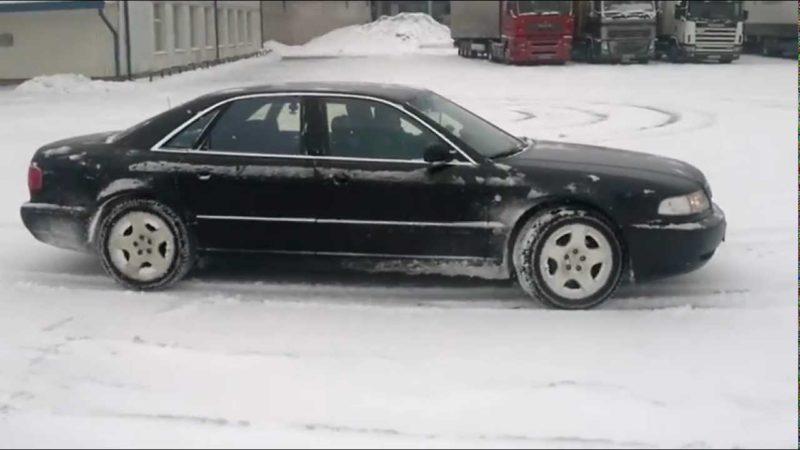 Audi A8 Side On