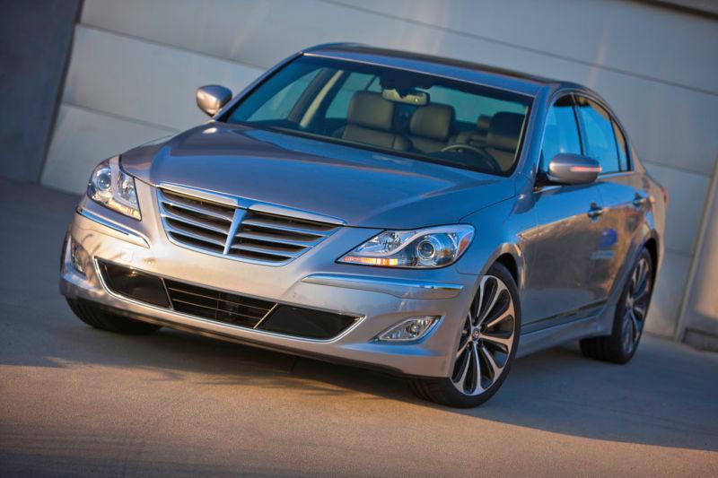Cars that Depreciate the Most - Hyundai Genesis