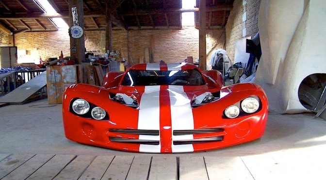 & Home Built Mid Engine Viper ACR-X Looks Home Built