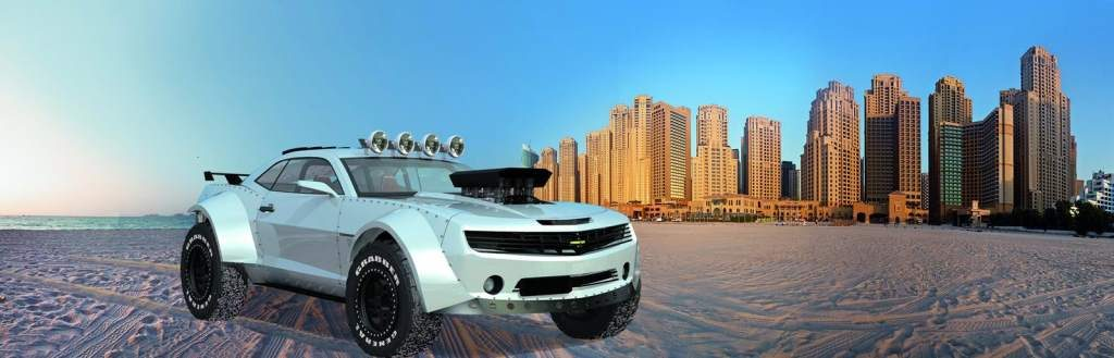 This Amazing Chevrolet Camaro Is A Muscle Car With Off Road