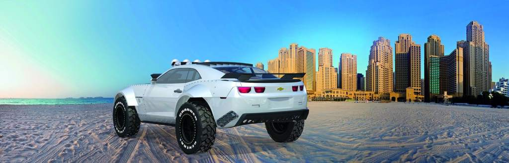 The Amazing Chevrolet Camaro Is A Muscle Car With Off Road Car