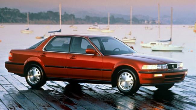 90s Cars - Weird Looking Cars - Acura Vigor