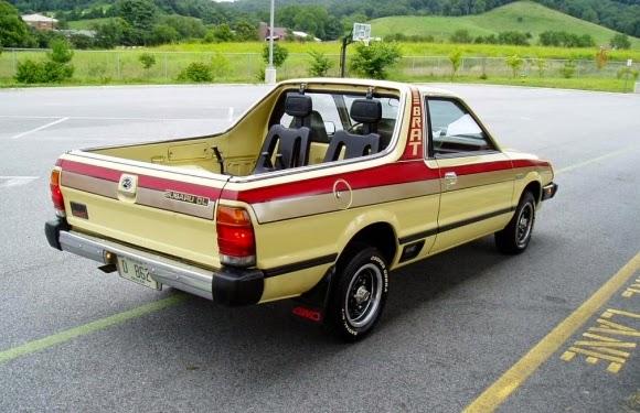 Weird 80s Cars - Subaru Brat