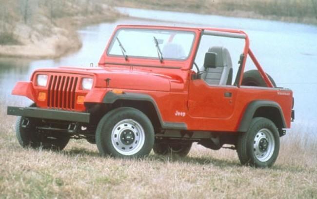 Jeep Wrangler Side On