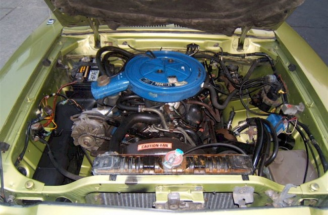 Mustang 6 Cylinder Engines 3