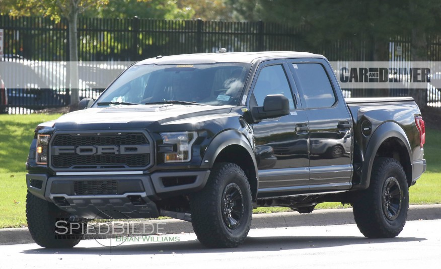 2017 Ford F-150 Raptor Caught On The Road