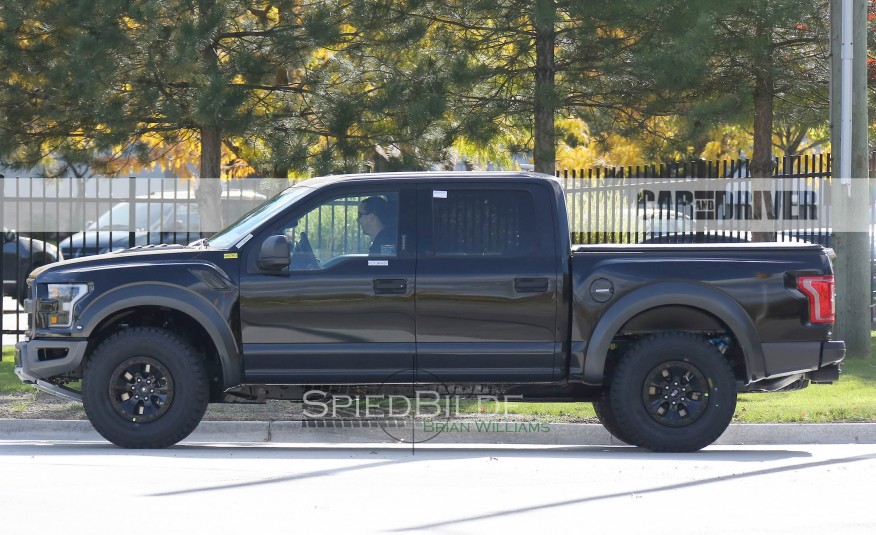 2017 ford f 150 raptor caught on the road. Black Bedroom Furniture Sets. Home Design Ideas