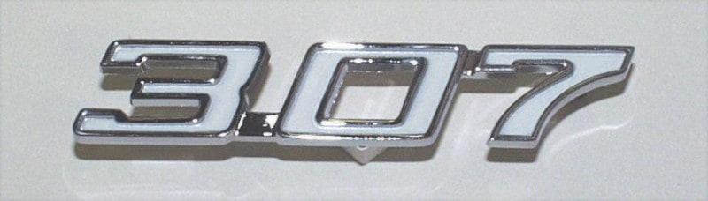 Chevrolet 307 Logo