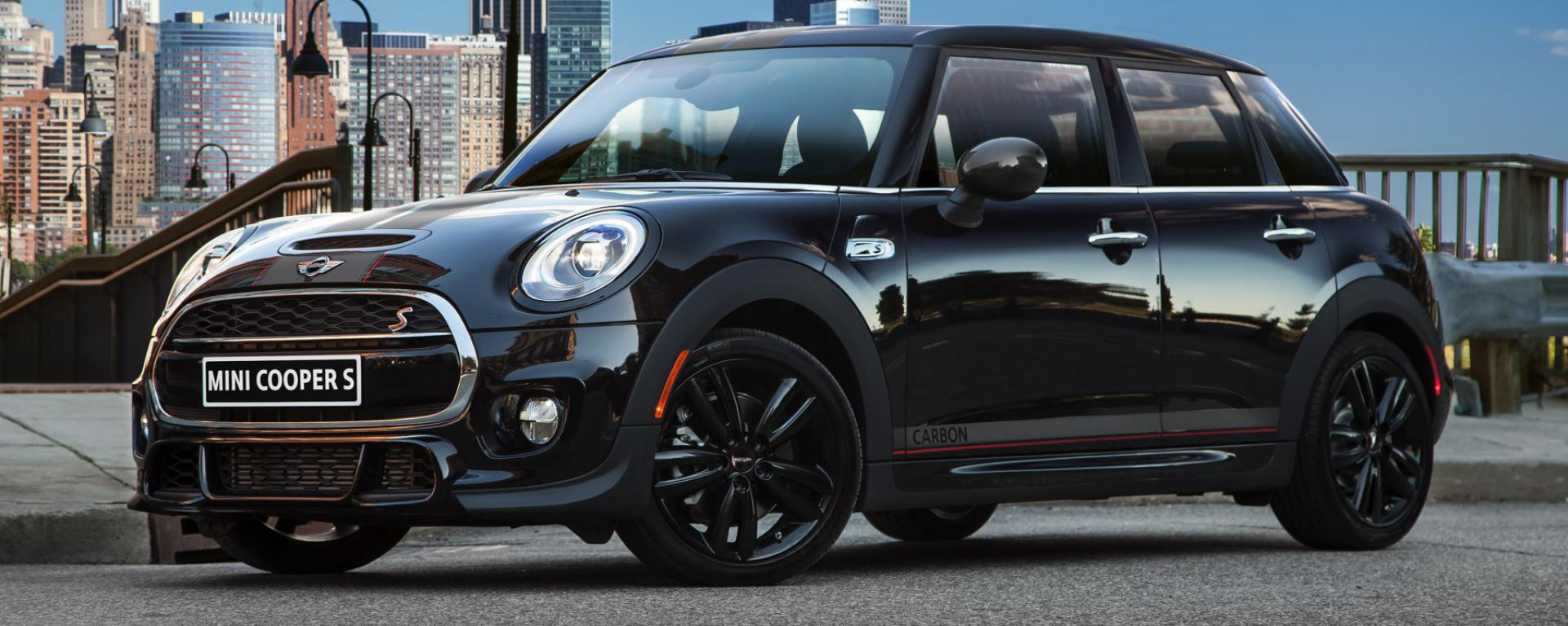 mini cooper carbon edition a john cooper works 4 door. Black Bedroom Furniture Sets. Home Design Ideas