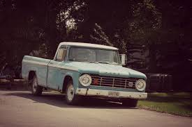Ugly Trucks - 1965 Dodge D100 with the Pie Plate Headlight Bezels
