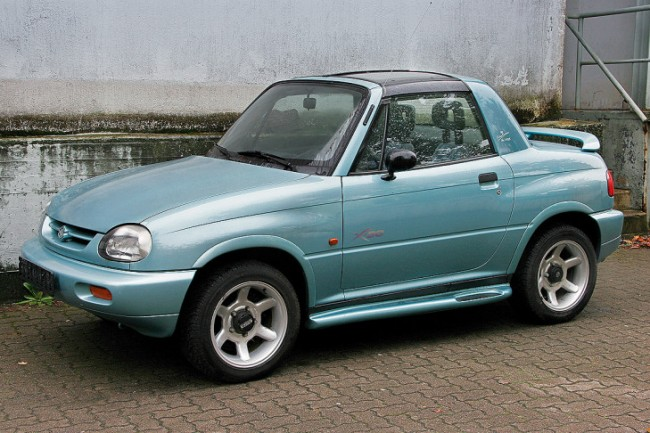 90s Cars - Weird Looking Cars - Suzuki Vitara X90