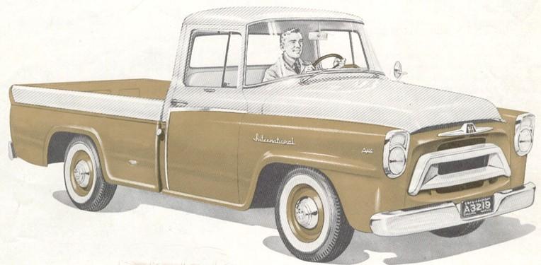 Ugly Trucks - 1957 International Golden Jubilee Pickup
