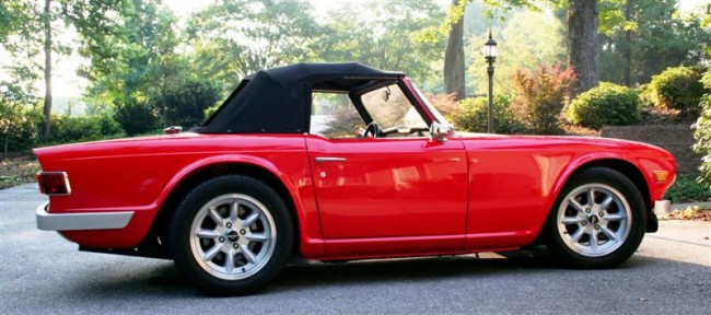 tr6 collector