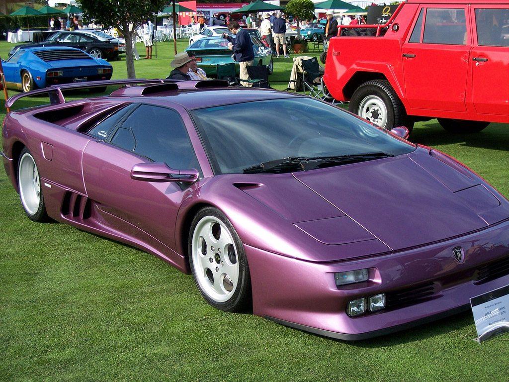 Fastest Cars Of The 90s From Europe - Lamborghini Diablo