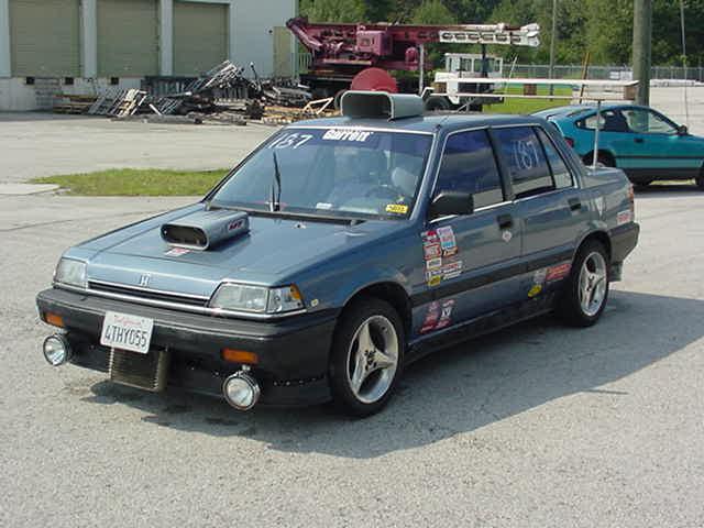 Souped Up Honda