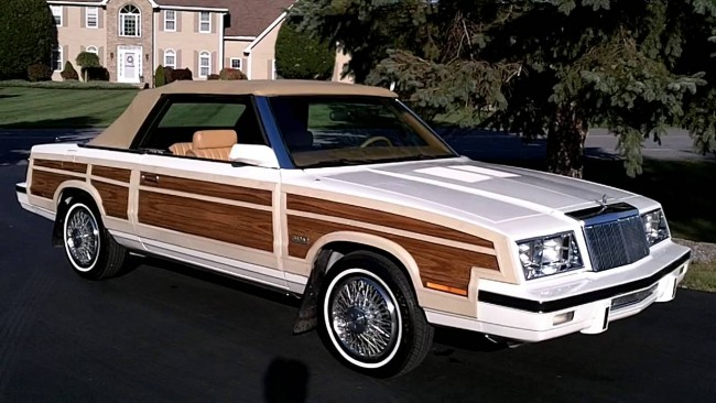 Weird 80s Cars - Chrysler LeBaron