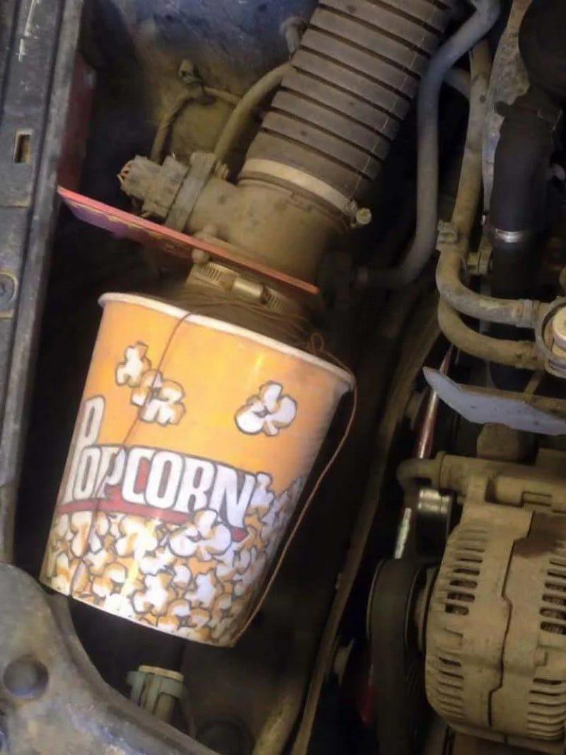 Popcorn Filter