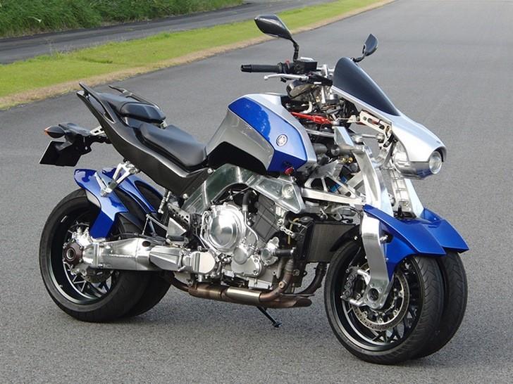 Yamaha Four Wheel Motorcycle 1