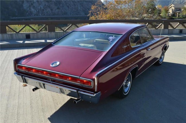Dodge Charger Rear View