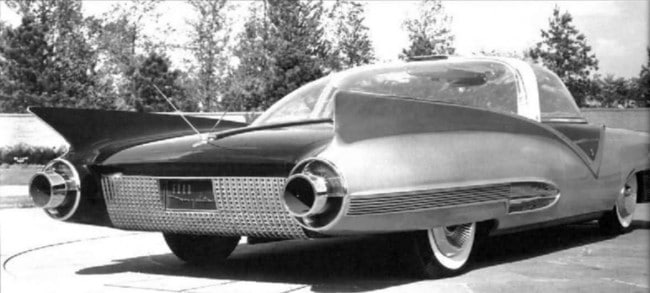 1955 Ford Mystere Had Rear Passenger Entertainment