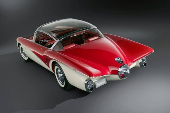 1956 Buick Centurion With Rear View Camera