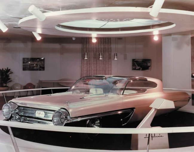 1958 Ford La Galaxy Imagined In Car Navigation