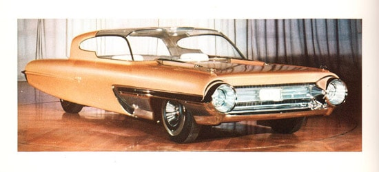 1958 Ford La Galaxy Proposed A Proximity Warning