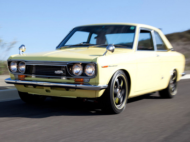 1970 Datsun Bluebird SSS Coupe - 01