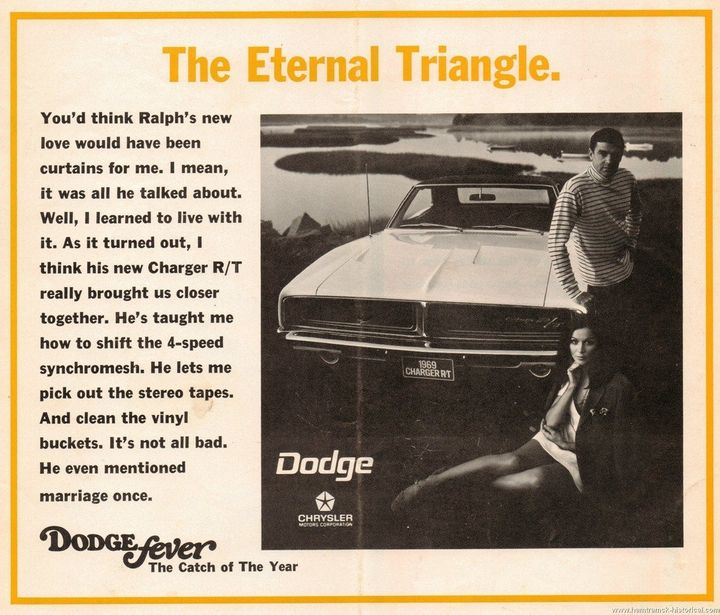 Vintage Dodge Car Ads