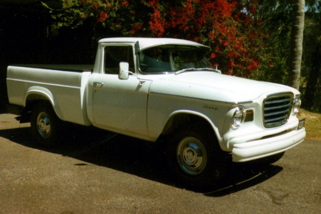 Odd Cars From The 60s! Studebaker Champ