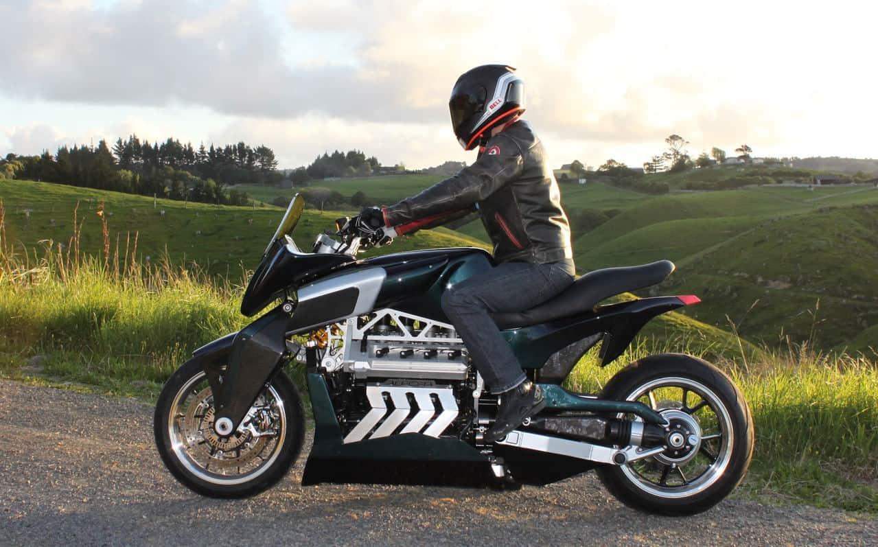 Aurora V8 Hellfire Motorcycle 4