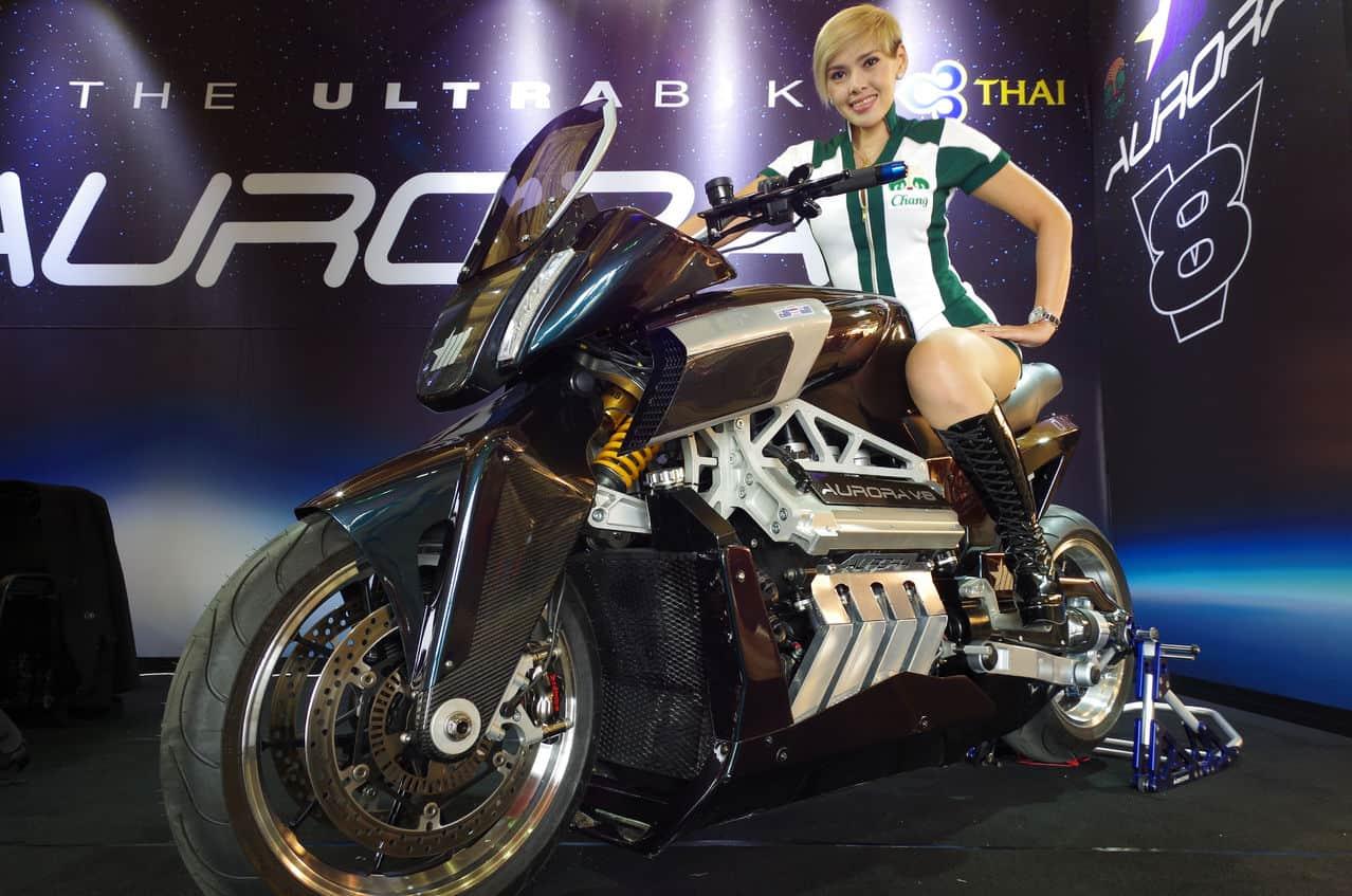 Aurora V8 Hellfire Motorcycle 2