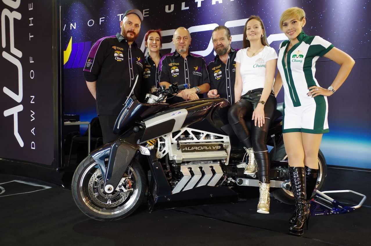Aurora V8 Hellfire Motorcycle 6