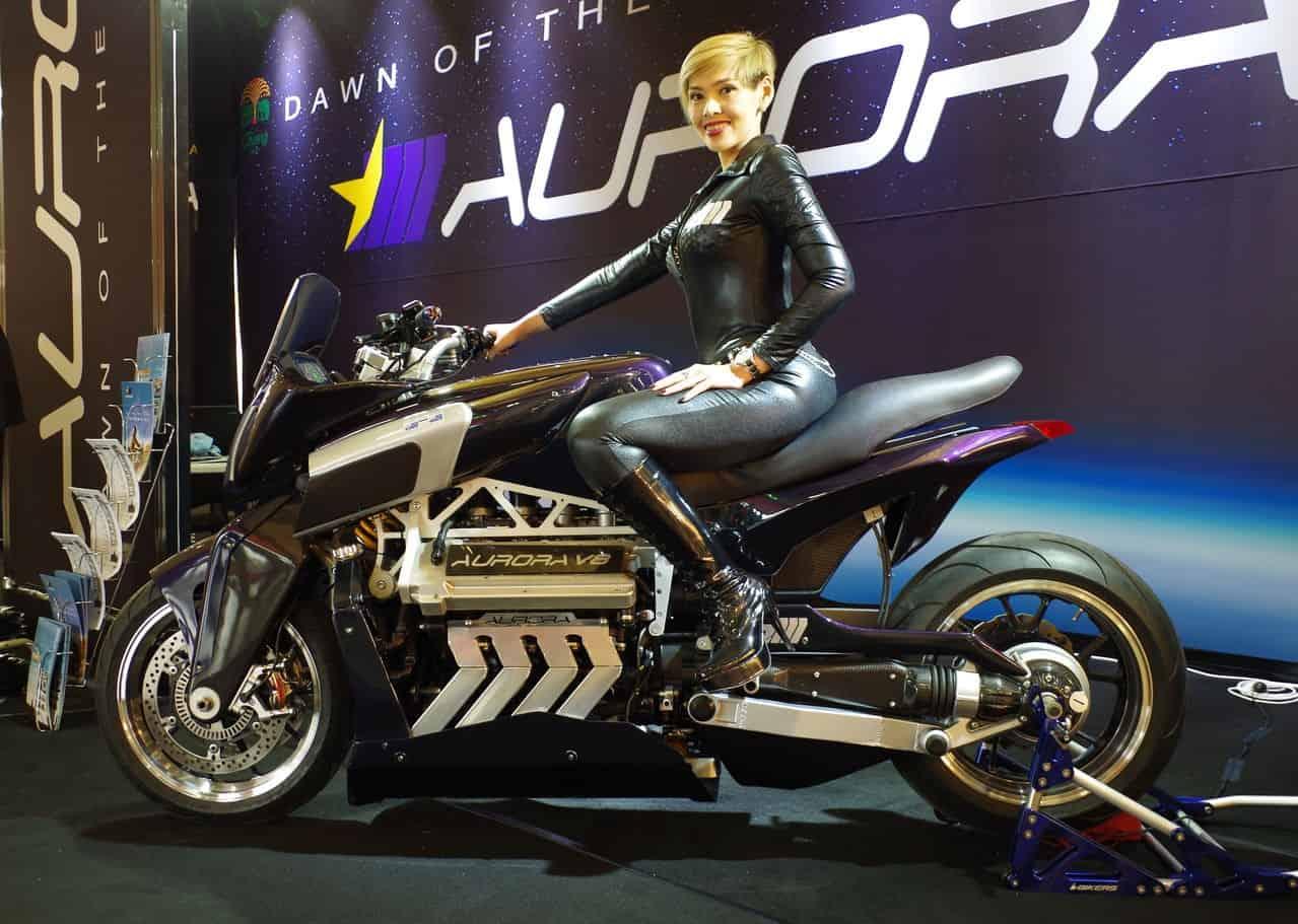 Aurora V8 Hellfire Motorcycle 3
