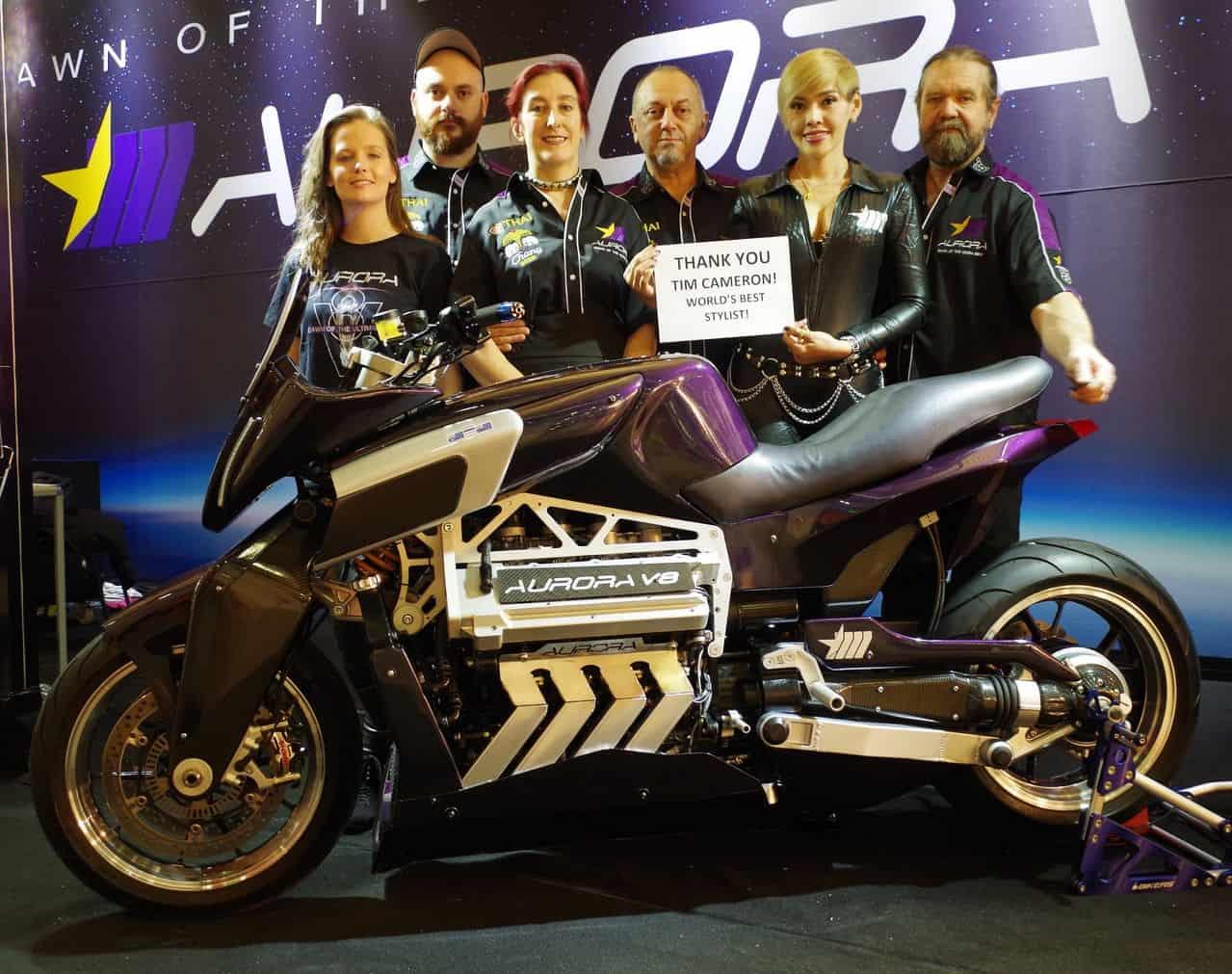 Aurora V8 Hellfire Motorcycle 7