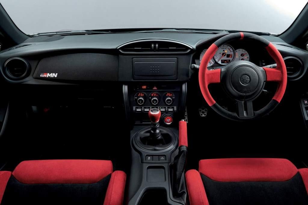 Toyota 86 GRMN Interior