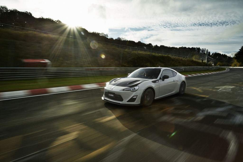 Toyota 86 GRMN Front 3/4 Rolling