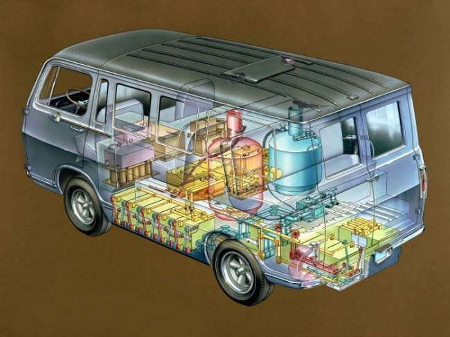 1966 General Motors Electrovan With Hydrogen Fuel Cell