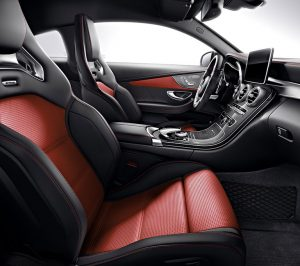 AMG C63 Coupe cabin