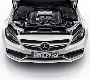 AMG C63 Coupe engine