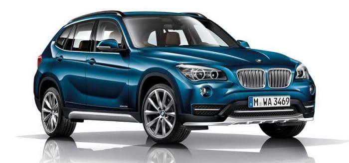 BMW X1 xDrive25d Front Quarter