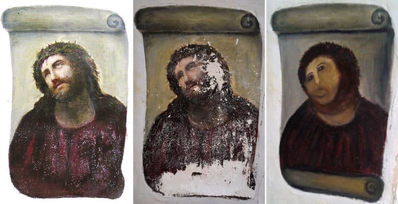 Cecilia Gimenez Fresco Restoration