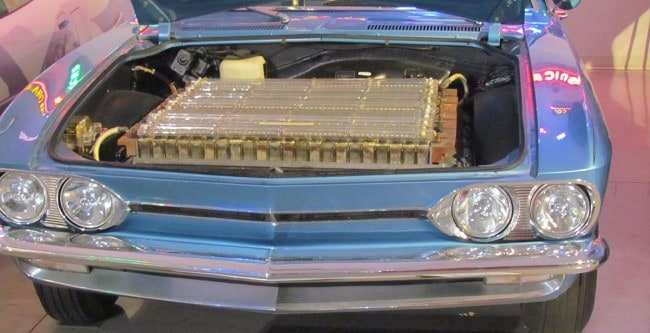 Chevrolet Electrovair II Engine Compartment