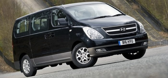 Hyundai i800 Front