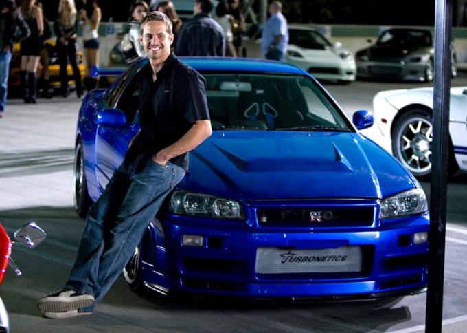 Fast & Furious Bayside Blue 2002 Skyline R34 GT-R