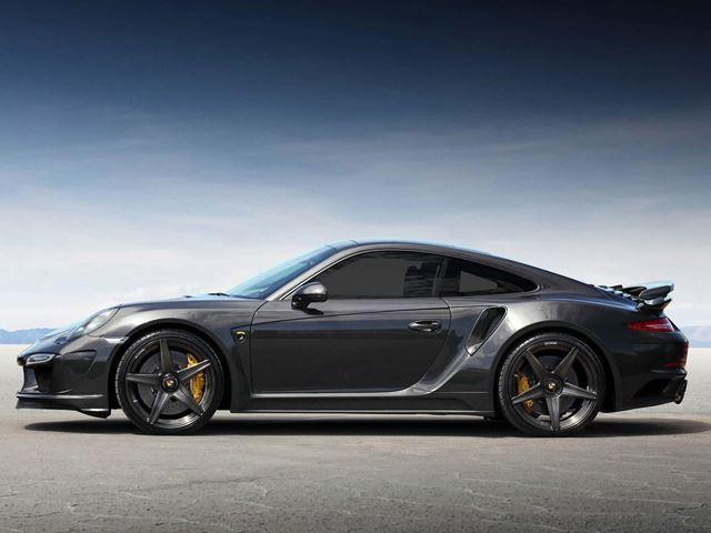 Porsche 911 Turbo S Carbon Fiber Widebody 9