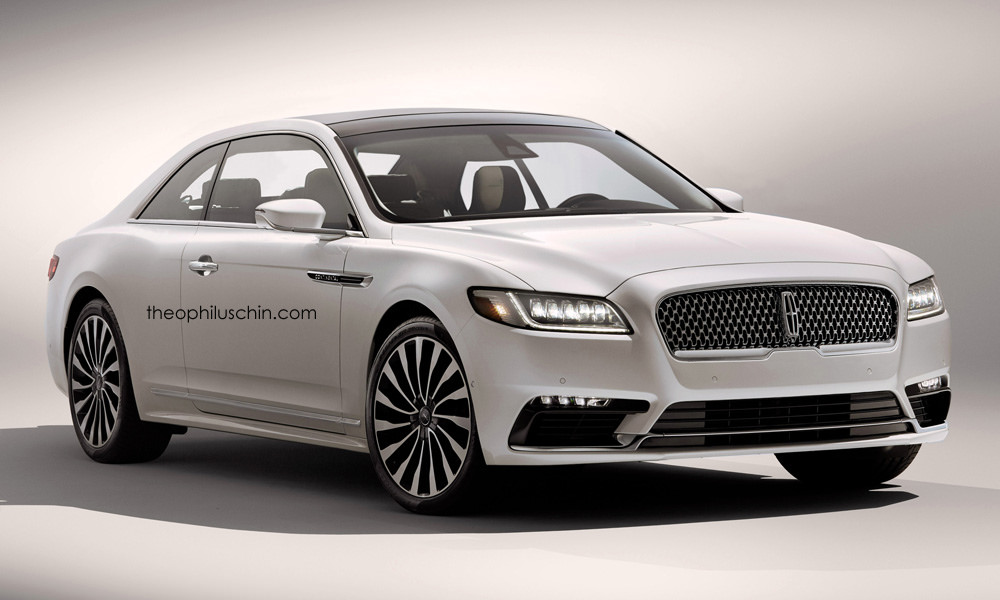 2018 Lincoln Continental Coupe Rendering
